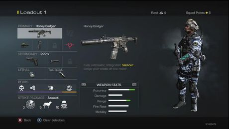 Ghosts Loadout