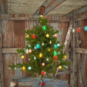 Fallout 4 Christmas Tree Garage