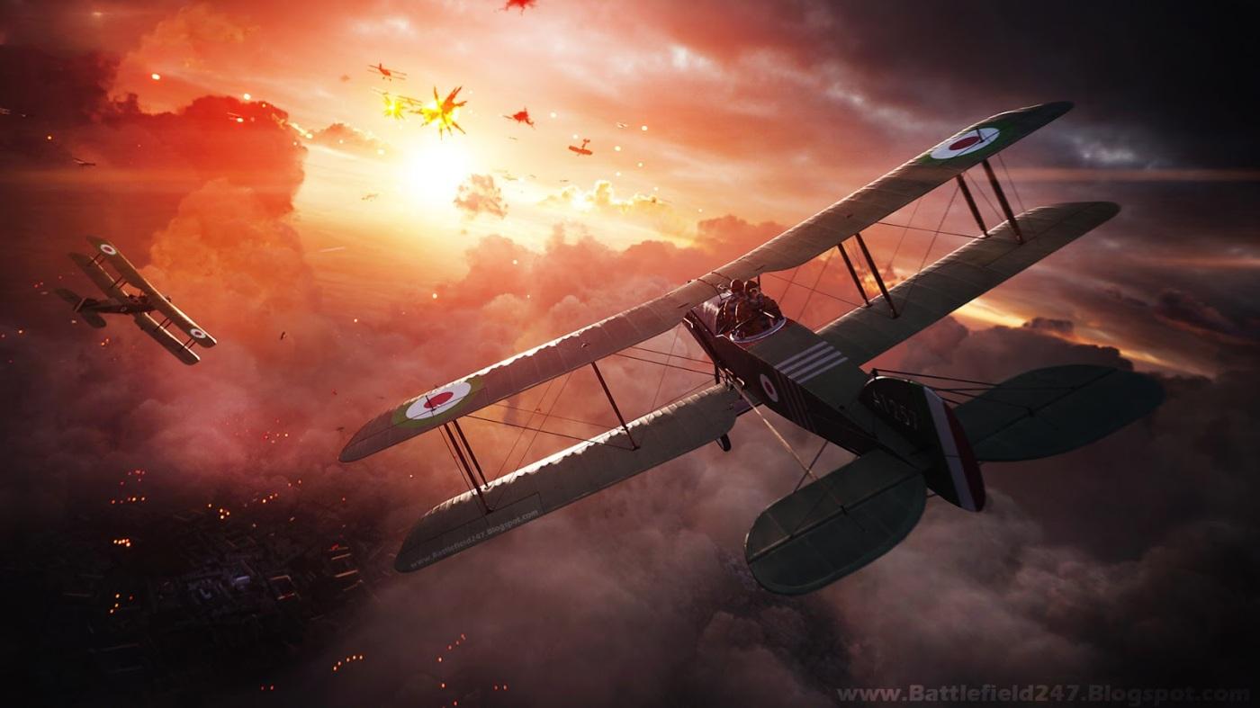 battlefield-1-sunset-biplane-dogfights-www-battlefield247-blogspot-com