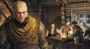 Geralt suddenly realised his scarf faux pas....